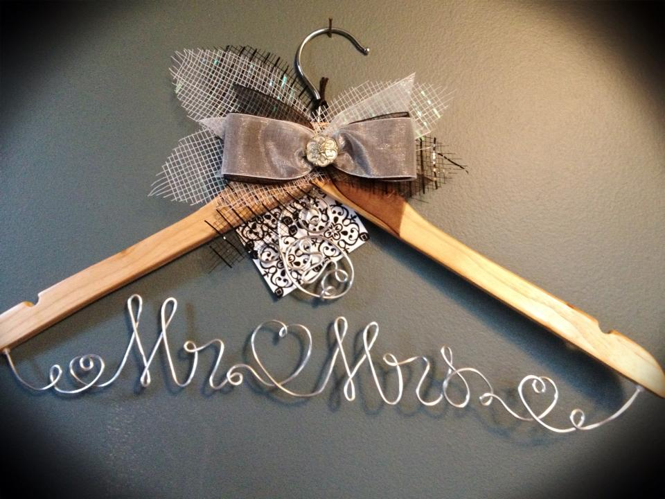 Wedding Hangers New Customized